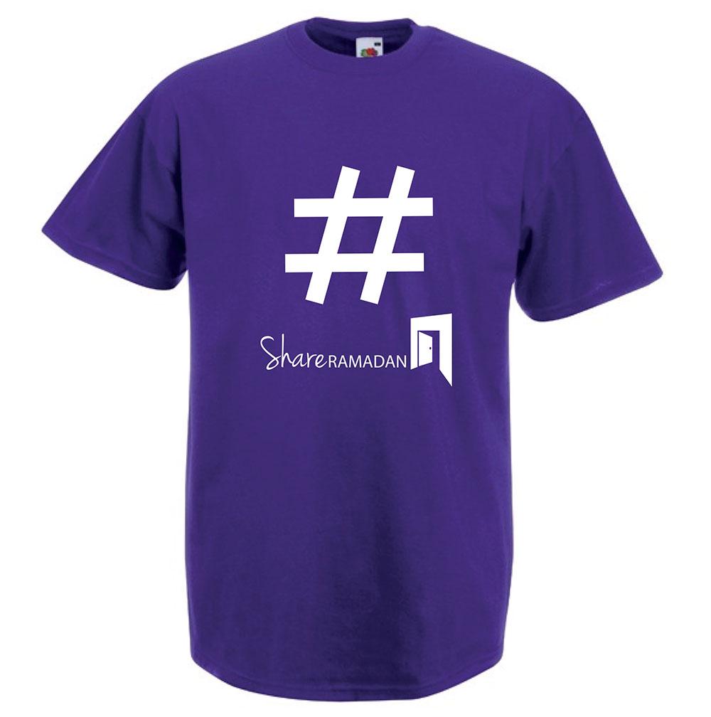 Purple Share Ramadan T Shirt